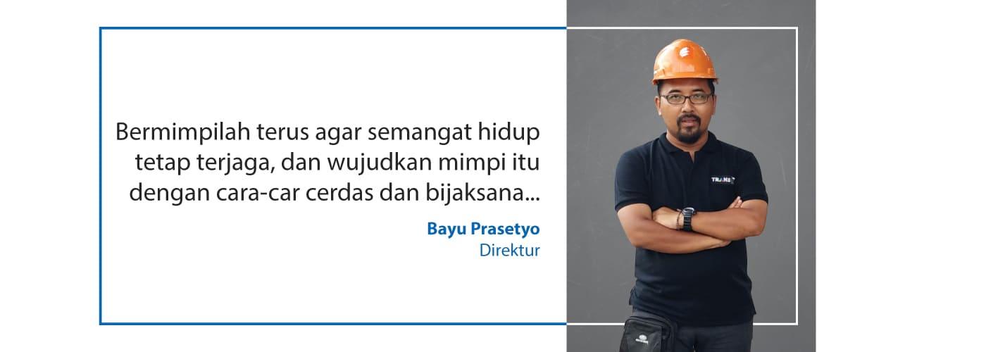 quote bayu prasetyo