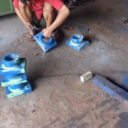 proses produksi raja pintu air