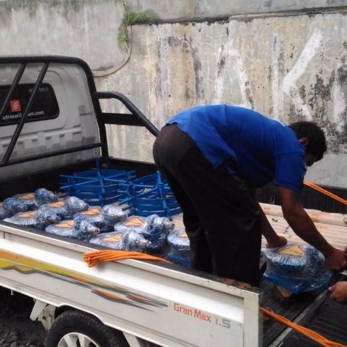 pengiriman pintu air irigasi rpa