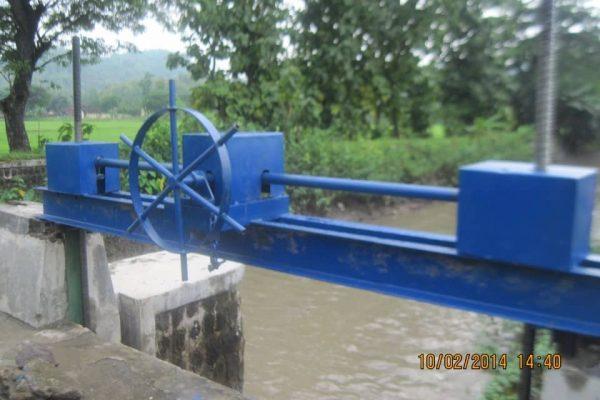 proyek pintu air bendungan cawas klaten