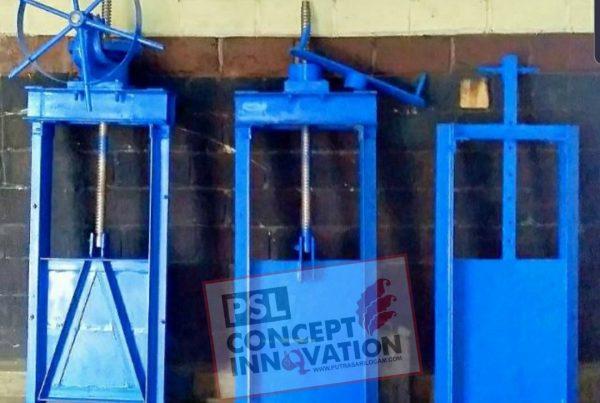 pintu air irigasi